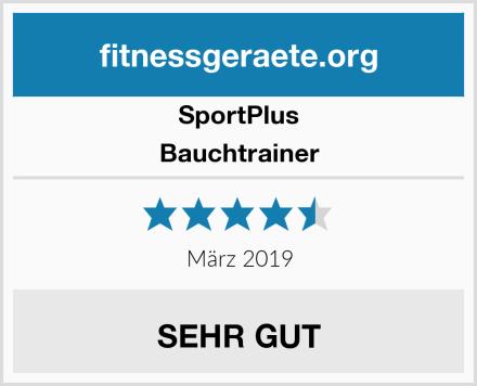 SportPlus Bauchtrainer Test
