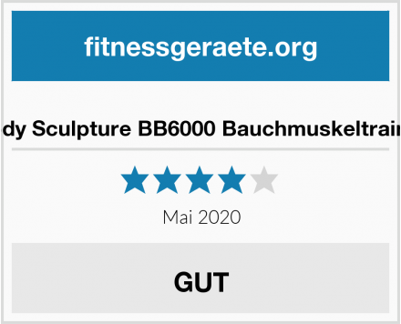 Body Sculpture BB6000 Bauchmuskeltrainer Test