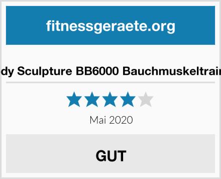 Body Sculpture BB6000 Bauchmuskeltrainer Test