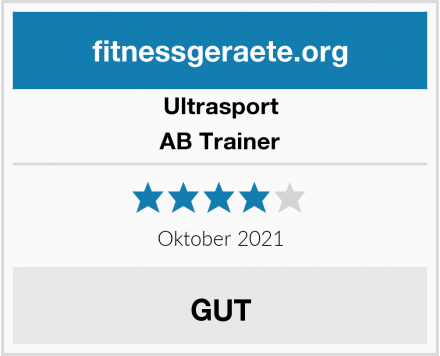 Ultrasport AB Trainer Test