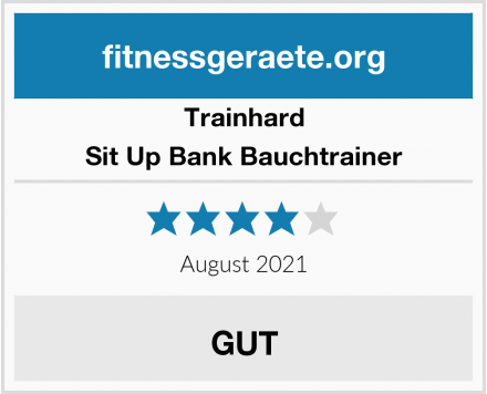Trainhard Sit Up Bank Bauchtrainer Test