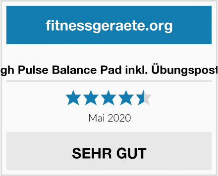 High Pulse Balance Pad inkl. Übungsposter Test