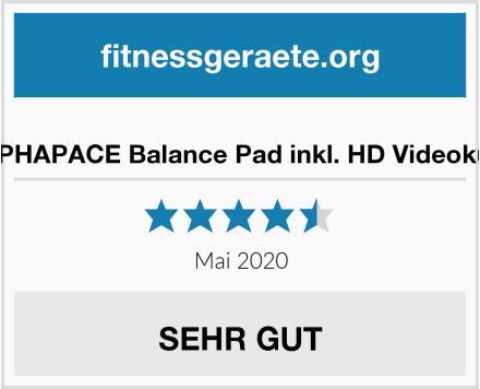ALPHAPACE Balance Pad inkl. HD Videokurs Test