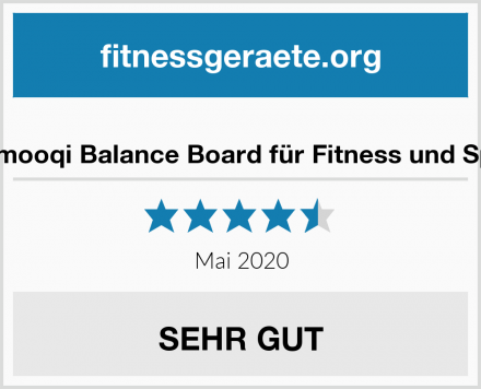 Gifort Emooqi Balance Board für Fitness und Spielspaß Test