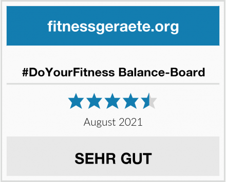#DoYourFitness Balance-Board Test