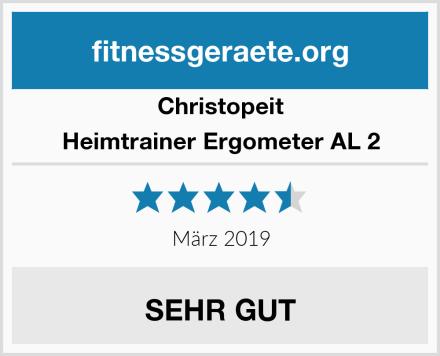 Christopeit Heimtrainer Ergometer AL 2 Test