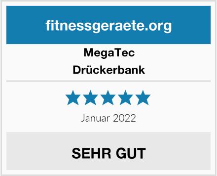 MegaTec Drückerbank Test
