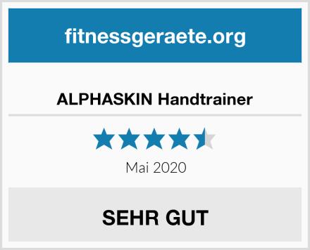 ALPHASKIN Handtrainer Test
