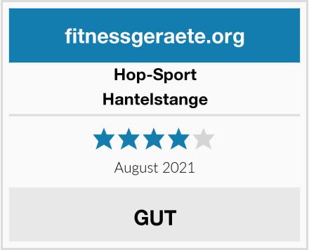 Hop-Sport Hantelstange Test