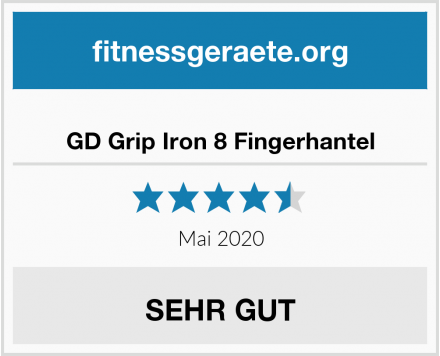 GD Grip Iron 8 Fingerhantel Test