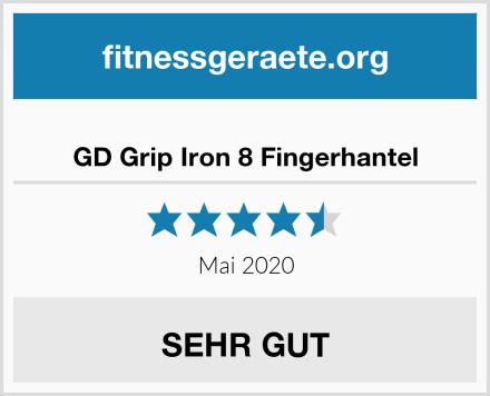 GD Grip Iron 8 Fingerhantel Test