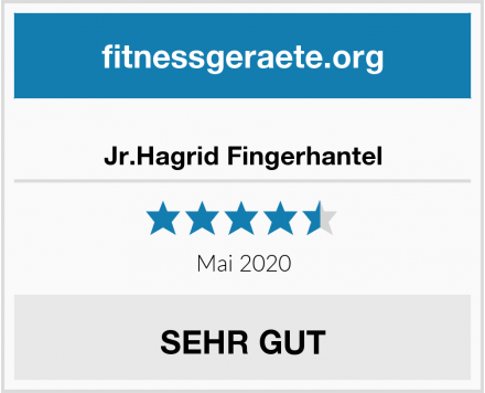 No Name Jr.Hagrid Fingerhantel Test