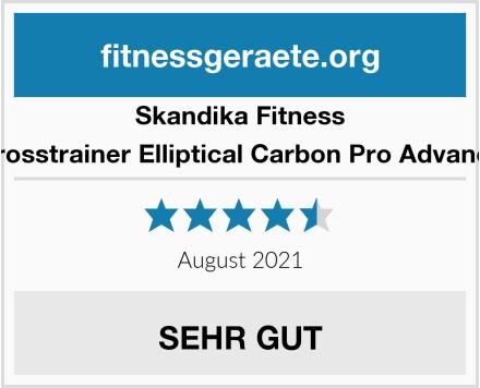 Skandika Fitness Crosstrainer Elliptical Carbon Pro Advance Test