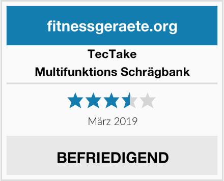 TecTake Multifunktions Schrägbank Test