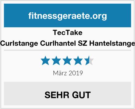 TecTake Curlstange Curlhantel SZ Hantelstange Test