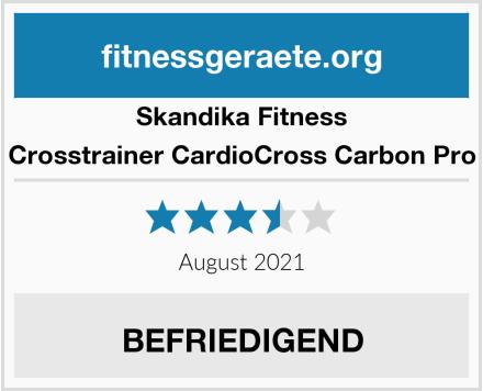Skandika Fitness Crosstrainer CardioCross Carbon Pro Test