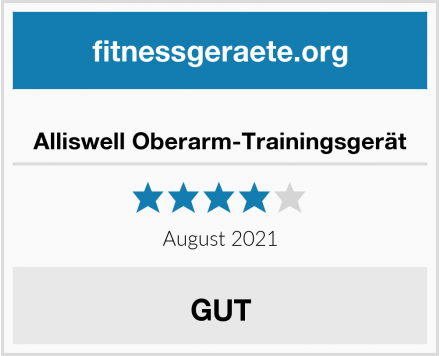 No Name Alliswell Oberarm-Trainingsgerät Test