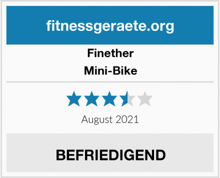 Finether Mini-Bike Test