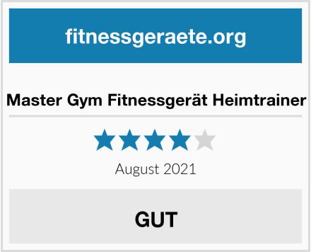 Master Gym Fitnessgerät Heimtrainer Test