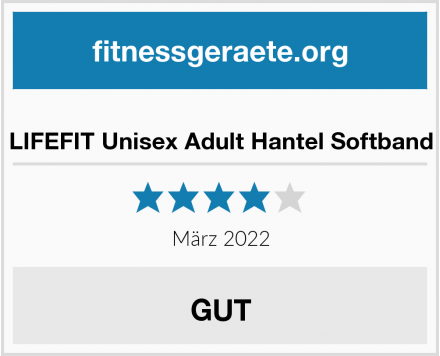 LIFEFIT Unisex Adult Hantel Softband Test