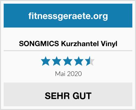 SONGMICS Kurzhantel Vinyl Test