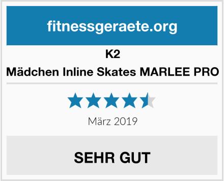 K2 Mädchen Inline Skates MARLEE PRO Test