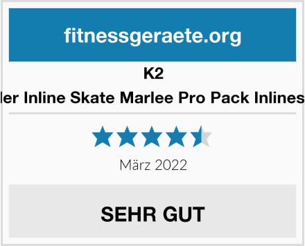 K2 Kinder Inline Skate Marlee Pro Pack Inlineskate Test