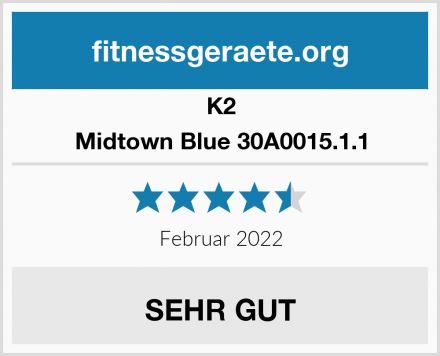 K2 Midtown Blue 30A0015.1.1 Test