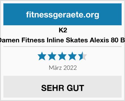K2 Damen Fitness Inline Skates Alexis 80 Bo Test