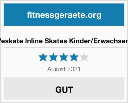 No Name Weskate Inline Skates Kinder/Erwachsene Test