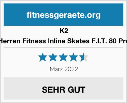 K2 Herren Fitness Inline Skates F.I.T. 80 Pro Test