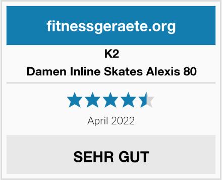 K2 Damen Inline Skates Alexis 80 Test