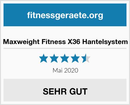 Maxweight Fitness X36 Hantelsystem Test