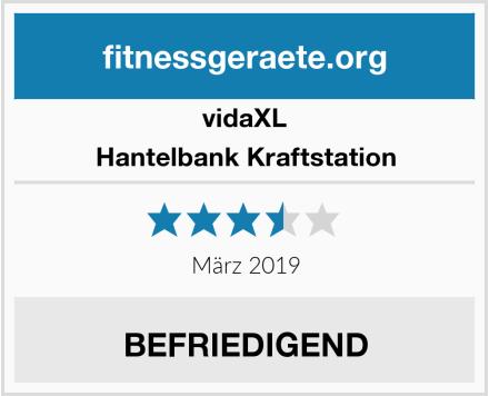 vidaXL Hantelbank Kraftstation Test