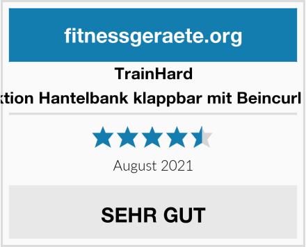 Trainhard Multifunktion Hantelbank klappbar mit Beincurl Butterfly, Test
