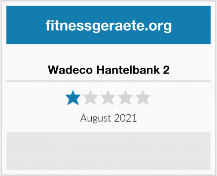 Wadeco Hantelbank 2 Test