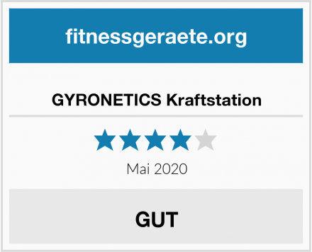 No Name GYRONETICS Kraftstation Test