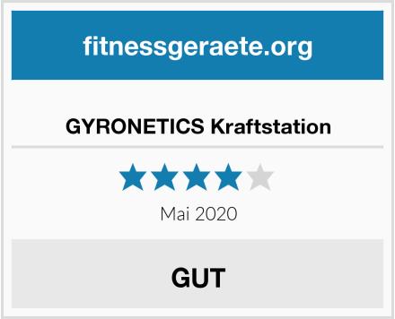 GYRONETICS Kraftstation Test