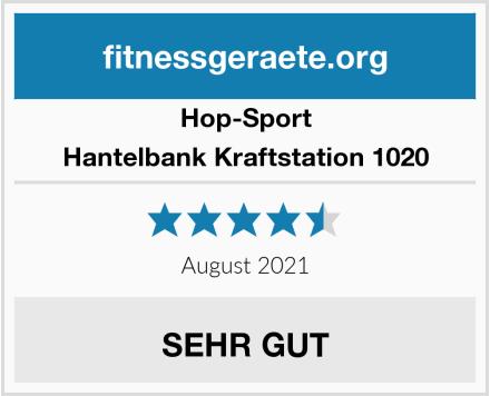 Hop-Sport Hantelbank Kraftstation 1020 Test