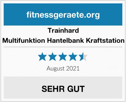 Trainhard Multifunktion Hantelbank Kraftstation Test