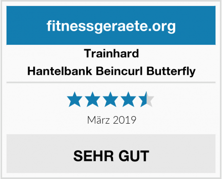 Trainhard Hantelbank Beincurl Butterfly Test