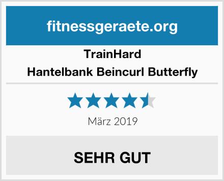 Trainhard Hantelbank Beincurl Butterfly Test