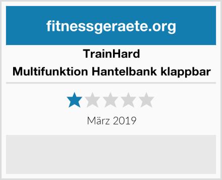 Trainhard Multifunktion Hantelbank klappbar Test