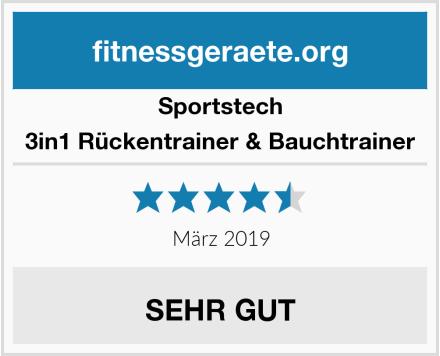 Sportstech 3in1 Rückentrainer & Bauchtrainer Test