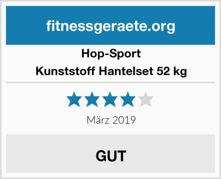 Hop-Sport Kunststoff Hantelset 52 kg Test