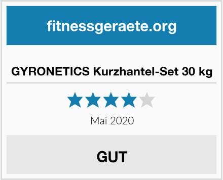 GYRONETICS Kurzhantel-Set 30 kg Test