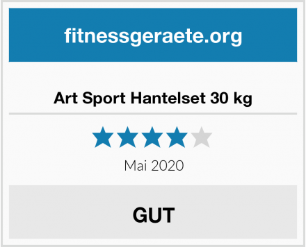 No Name Art Sport Hantelset 30 kg Test