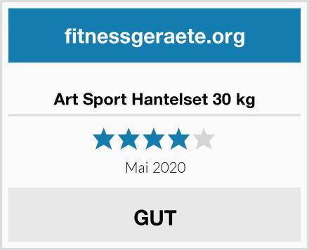Art Sport Hantelset 30 kg Test