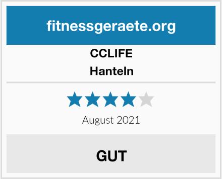 CCLIFE Hanteln Test