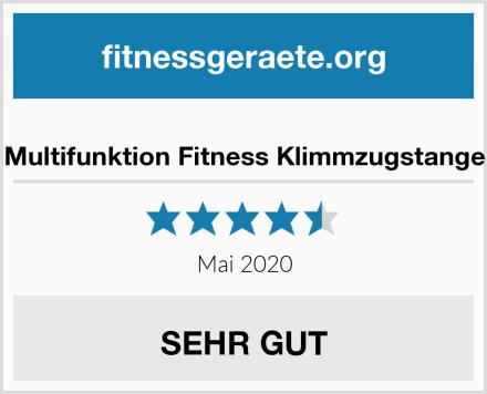 Multifunktion Fitness Klimmzugstange Test